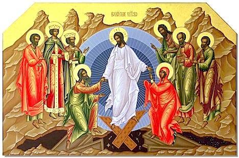 ВІТАННЯ ОТЦІВ ХРАМУ З СВІТЛИМ ПРАЗНИКОМ ВОСКРЕСІННЯ ХРИСТОВОГО